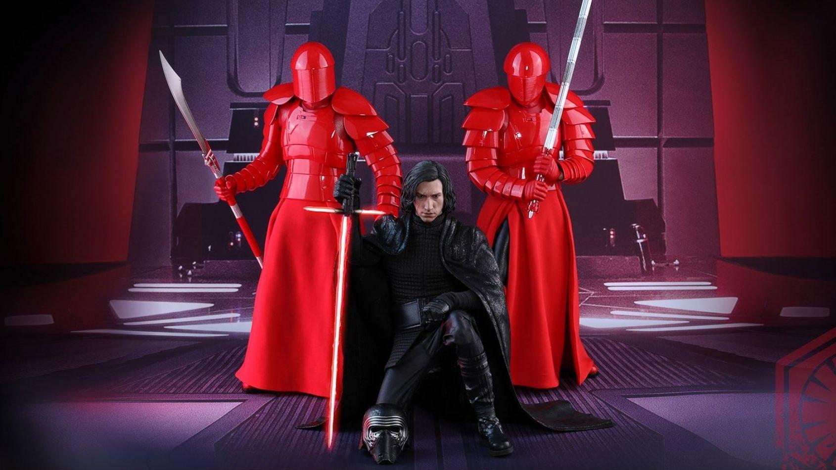 Hot Toys dévoile son nouveau Kylo Ren et les Gardes Prétoriens