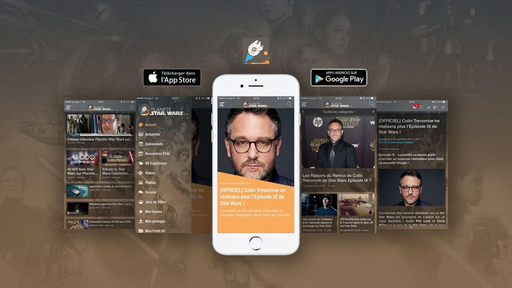 Nouvelle version de l'APP Planète Star Wars (iOS & Android)