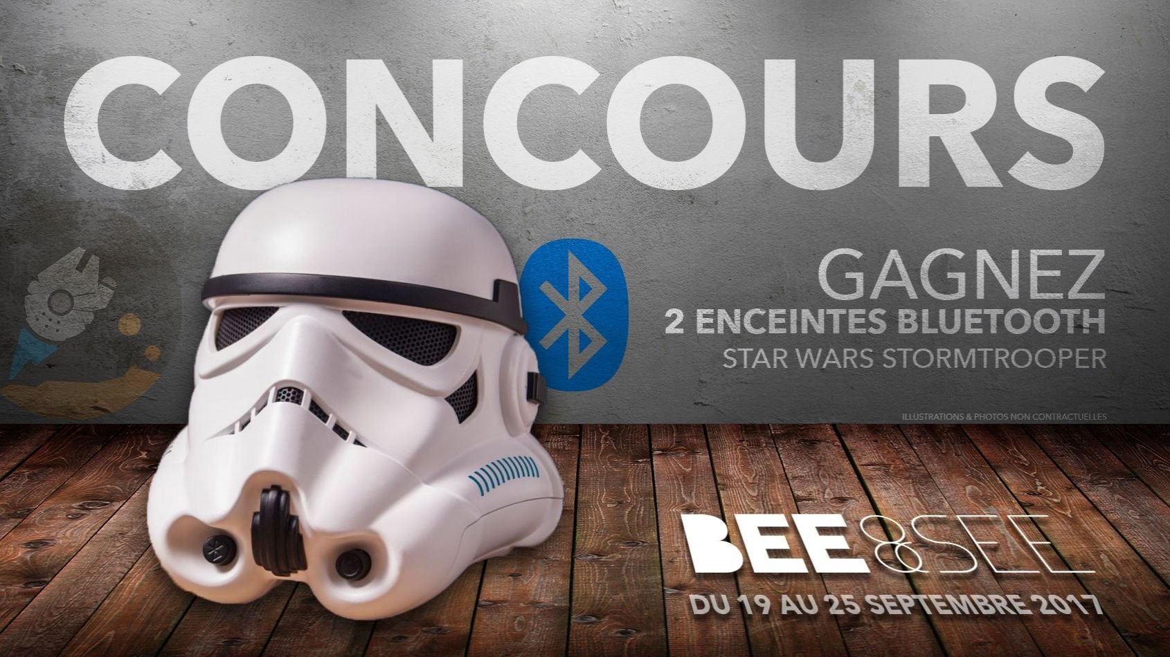 CONCOURS - Gagnez 2 enceintes Stormtrooper avec Bee&See