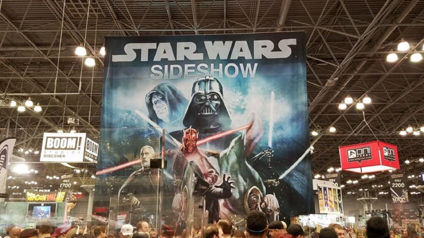 Le stand Sideshow au Comic Con de New York
