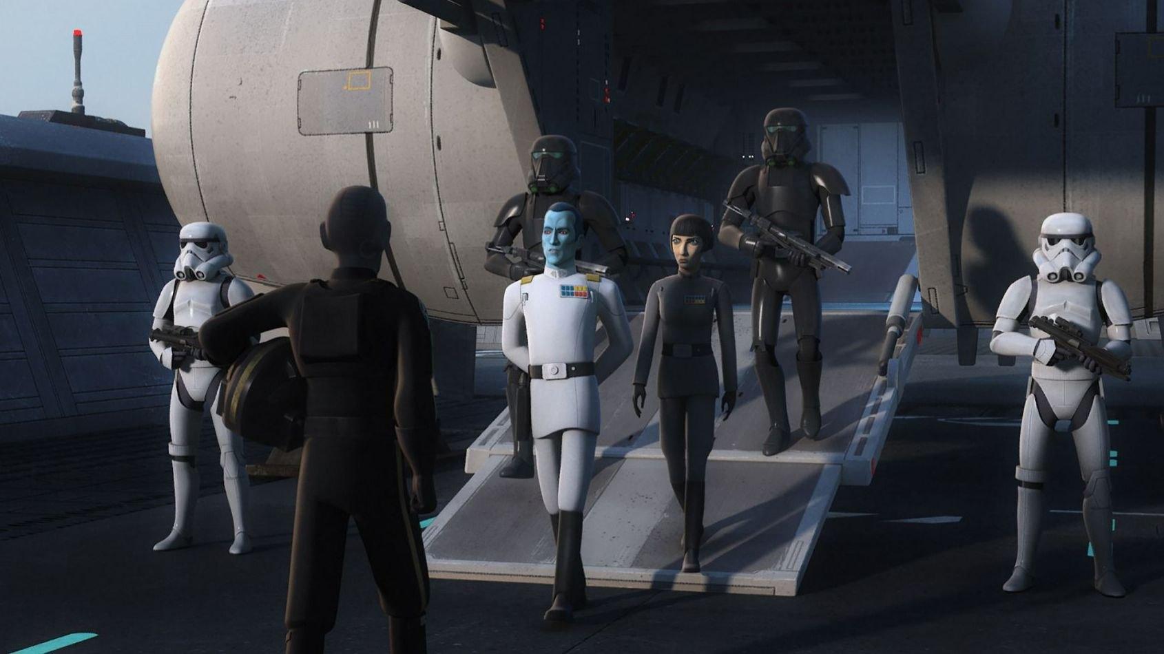 Star Wars Rebels: de nouvelles images révélées