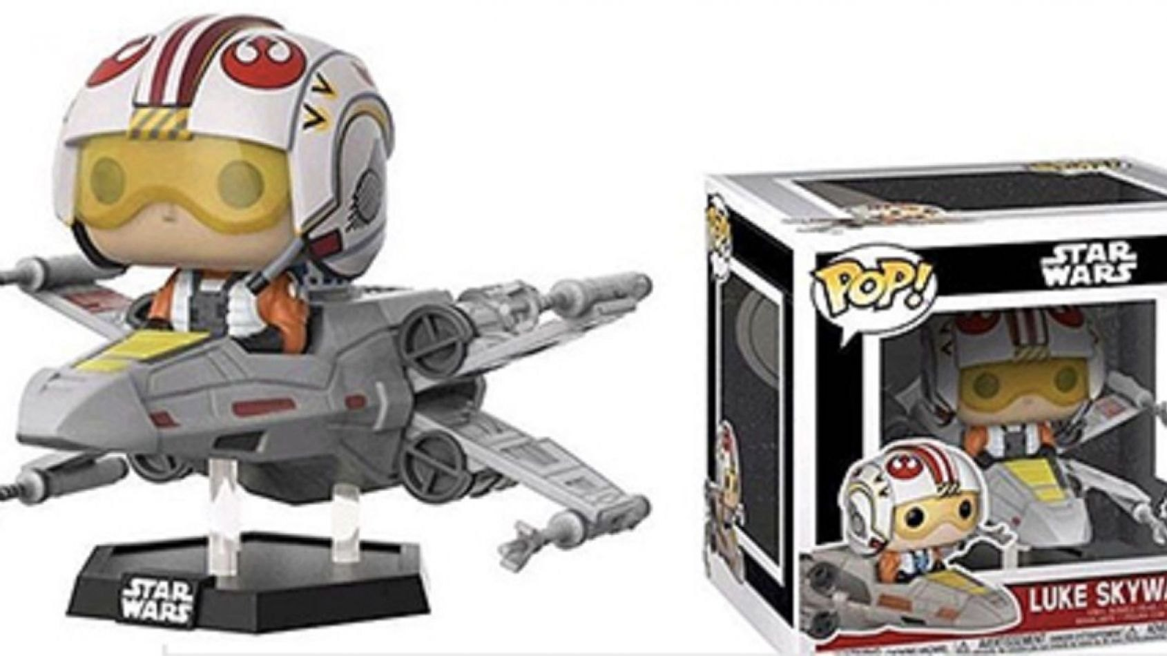 Funko Pop Deluxe: Luke Skywalker et son X-Wing