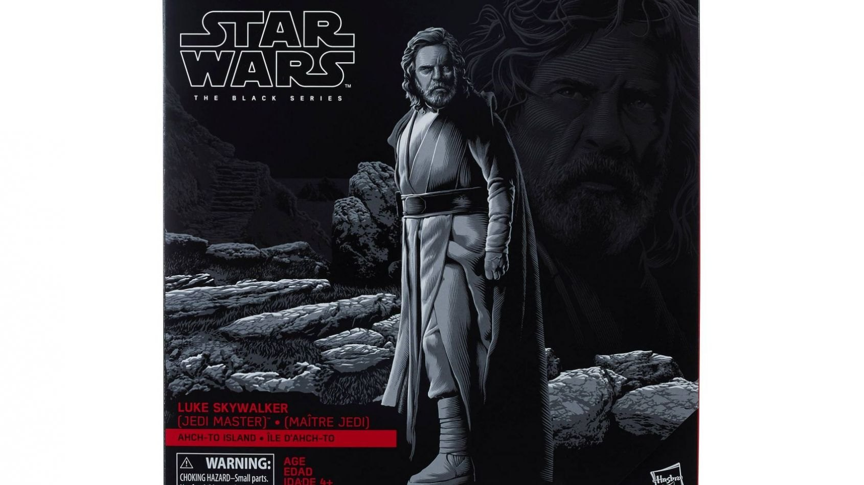 Luke Skywalker Black Series par Hasbro est disponible