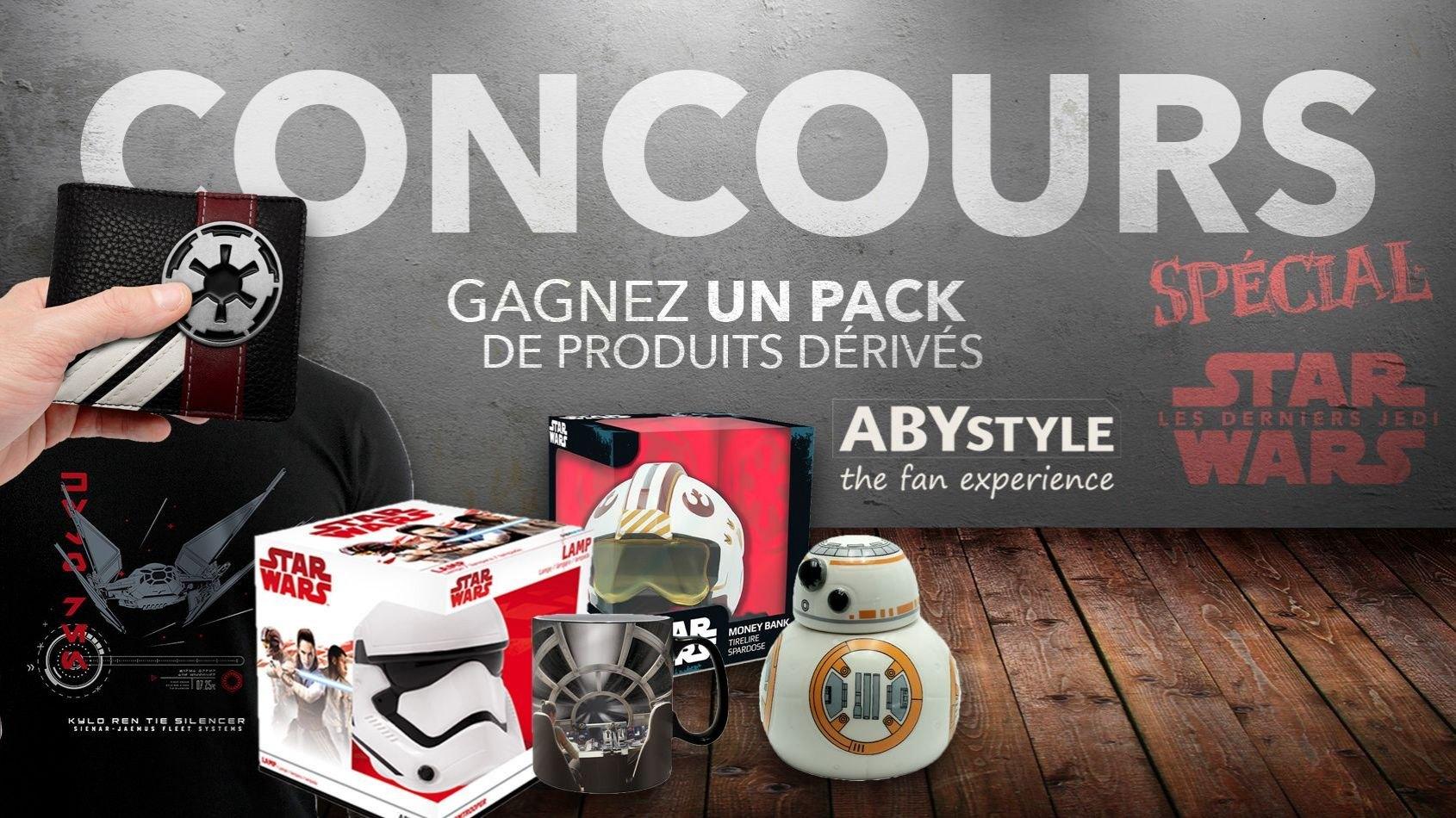 Concours Spécial #1 - Gagnez un pack de produits dérivés ABYstyle