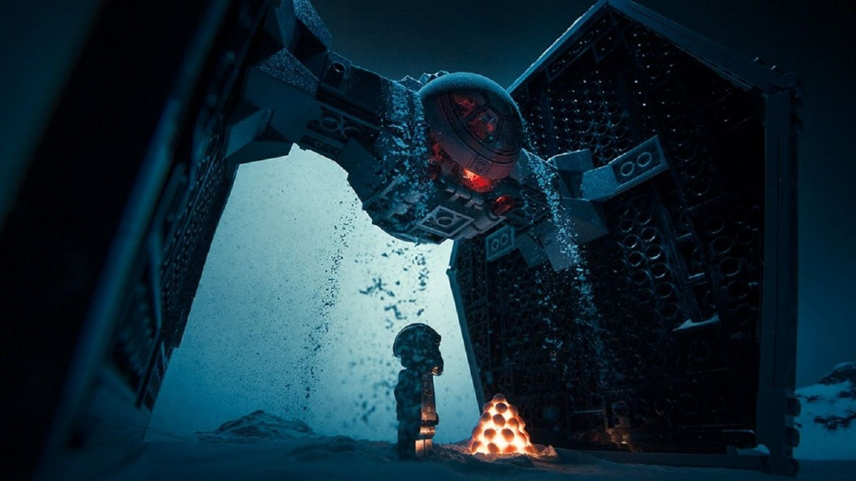 Des photos Star Wars avec des Lego