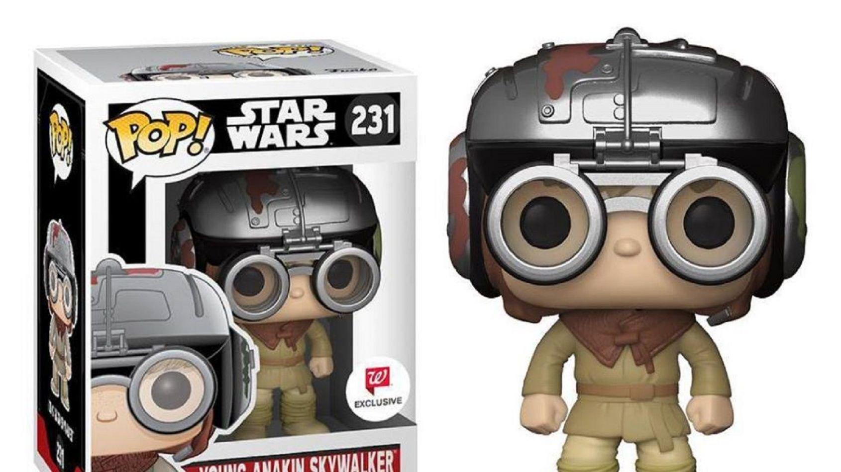 Funko Pop: le jeune Anakin Skywalker avec casque
