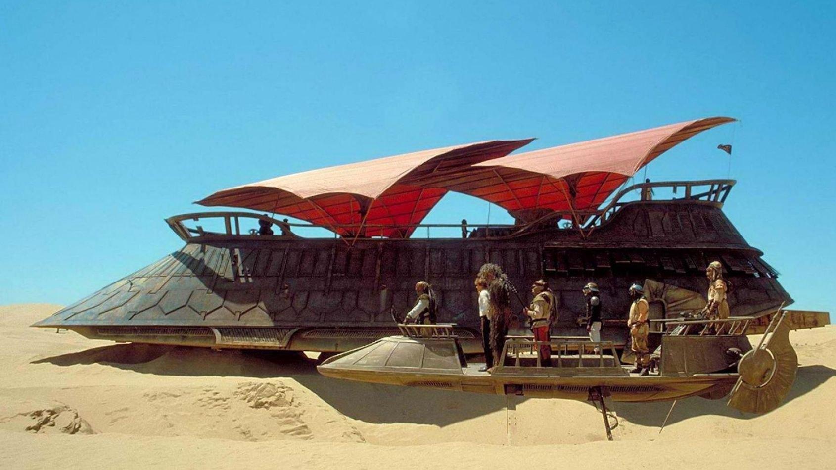 Hasbro sur le point de produire la Barge de Jabba !