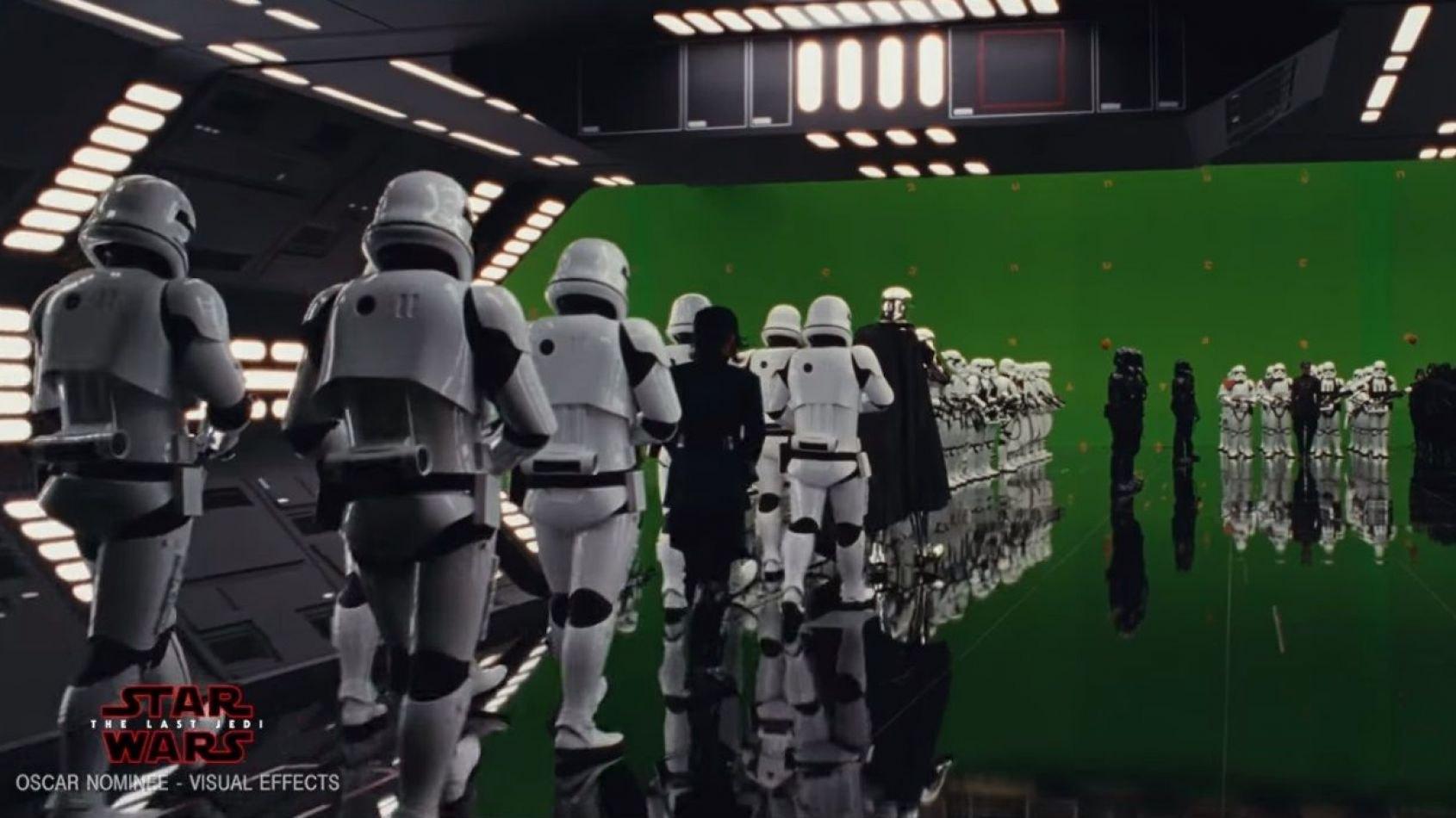 ILM dévoile un making of du hangar du Star Destroyer de Snoke