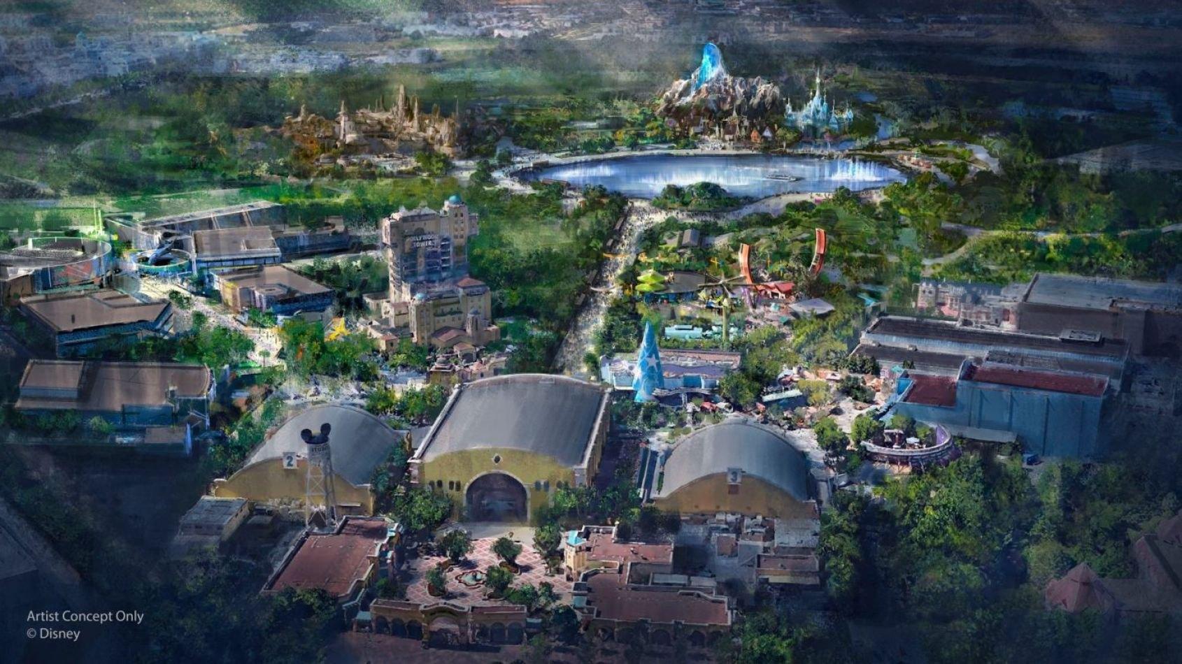 Un land Star Wars prochainement à Disneyland Paris