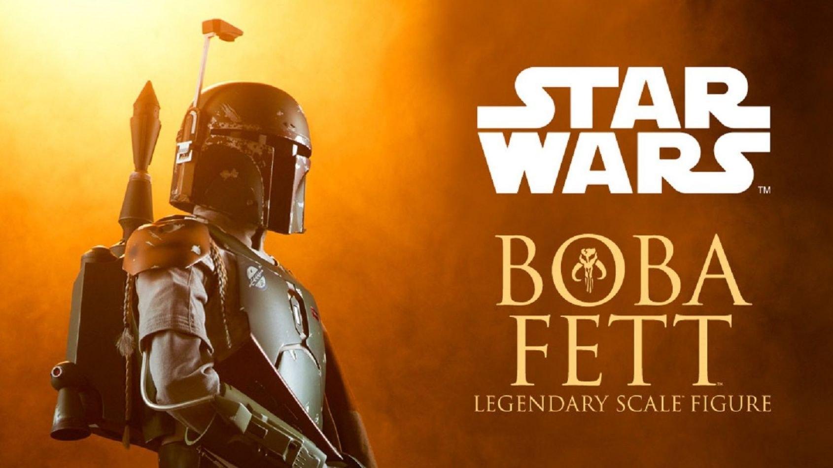 Sideshow : Une figurine de Boba Fett dans la gamme Legendary Scale