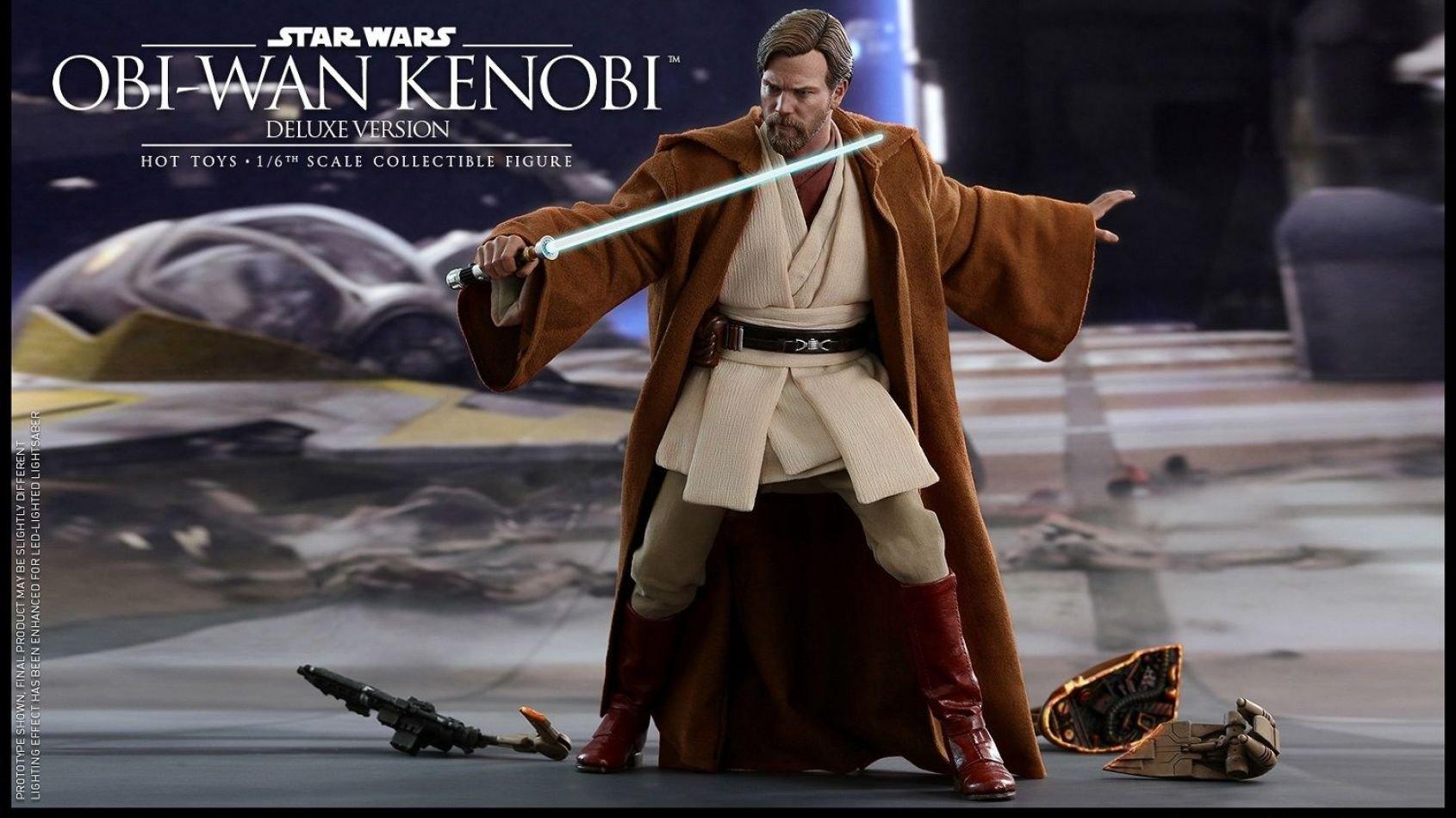 Hot Toys: Obi-Wan Kenobi de la Revanche des Sith