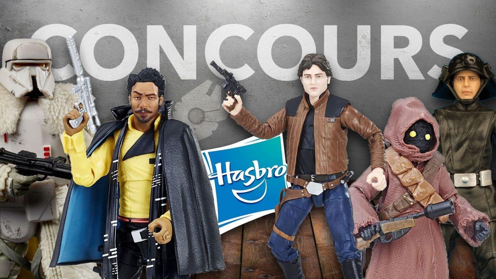 CONCOURS : Gagnez des figurines Hasbro Black Series de Solo !